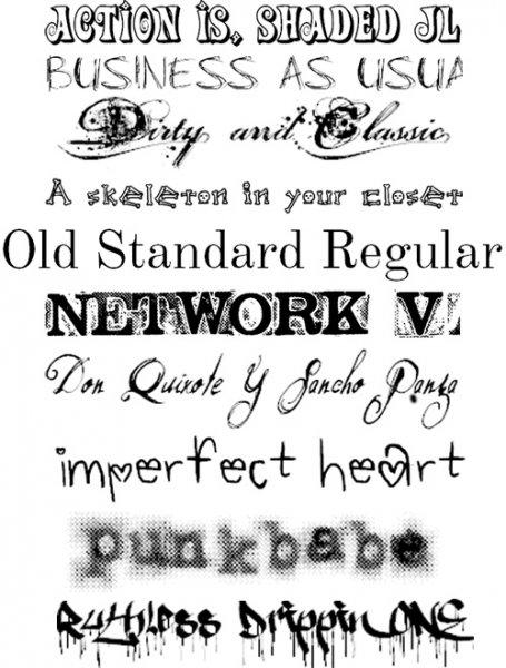 Красивые шрифты для тату: онлайн подбор - vse-o-tattoo ru